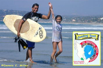 Rene Salinas, surfing lessons